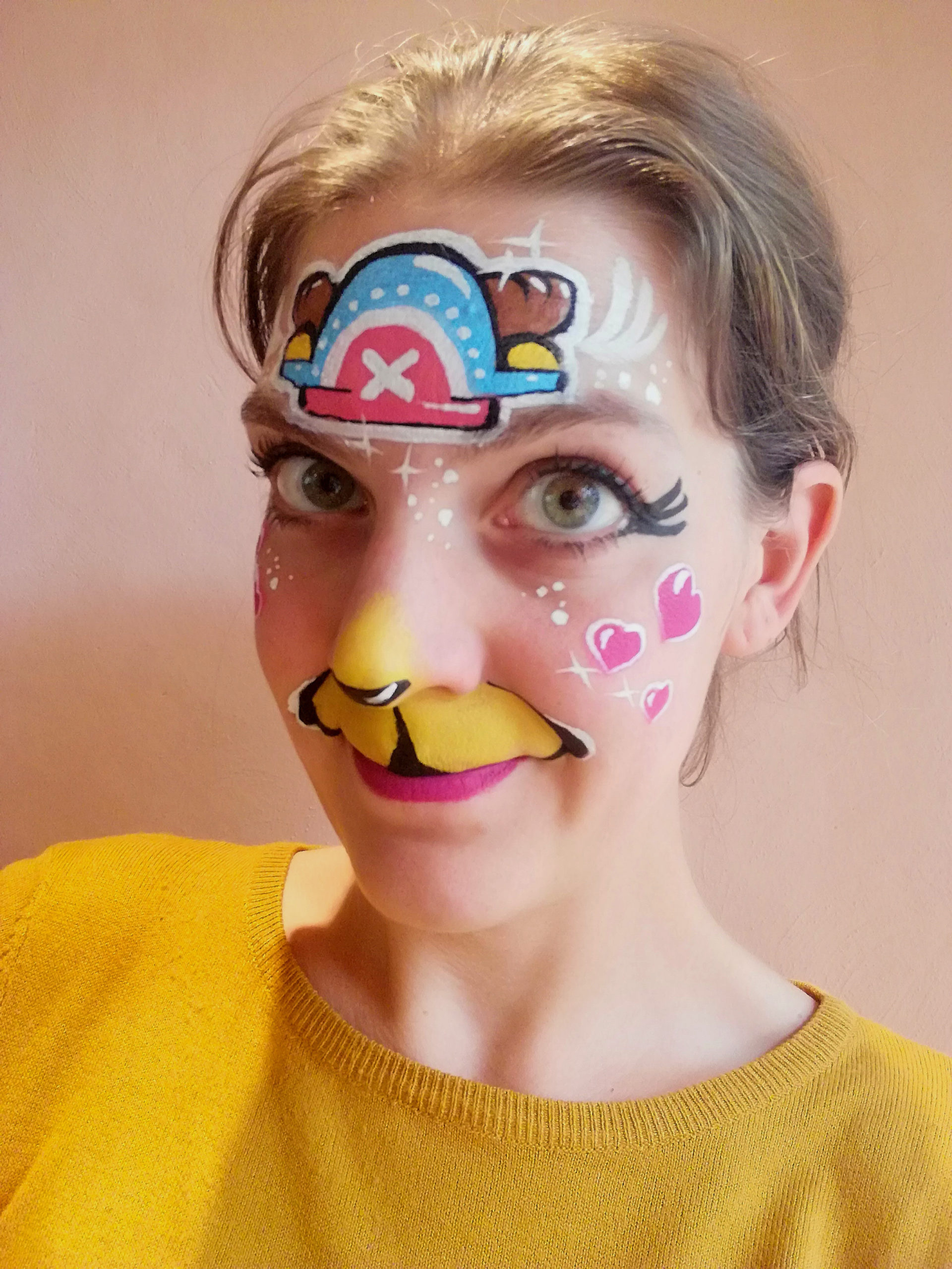 maquillage enfant animation salon manga