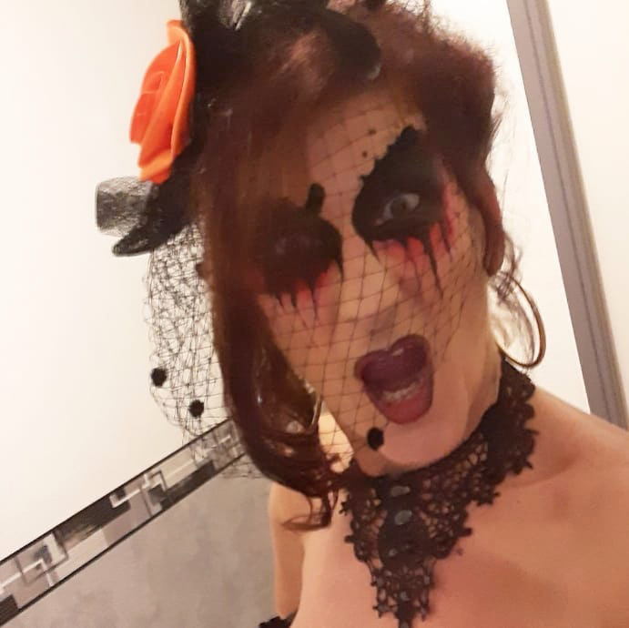 maquillage facepainting halloween adulte gard ales nimes montpellier