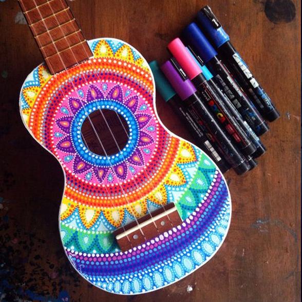 posca ukulele