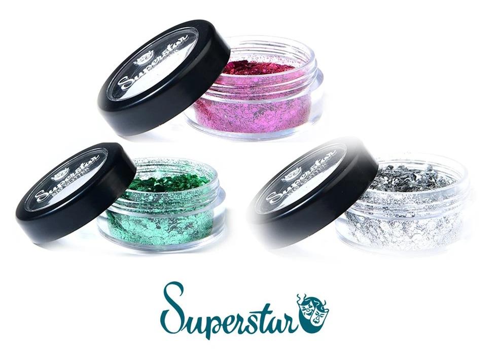 Superstar-Bio-Glitter-paillettes biodegradables fines